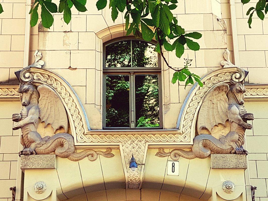 Art Nouveau in architecture and interiors of Riga