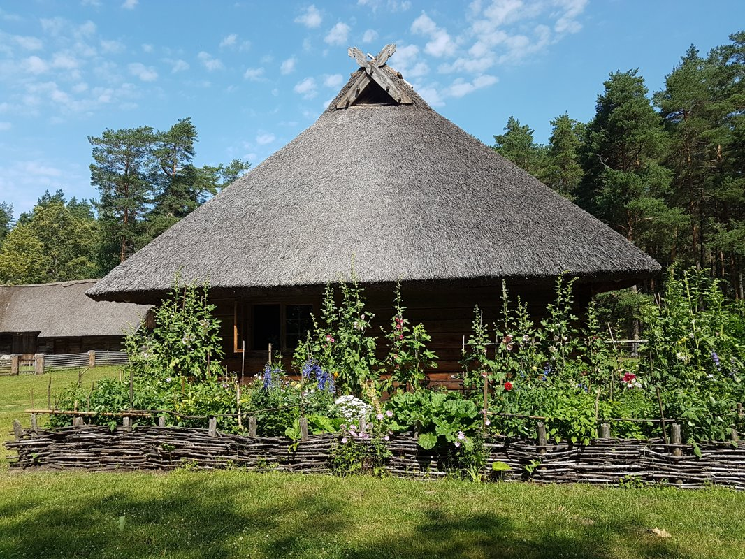 The excursion to the Ethnographic Open Air Museum of Latvia